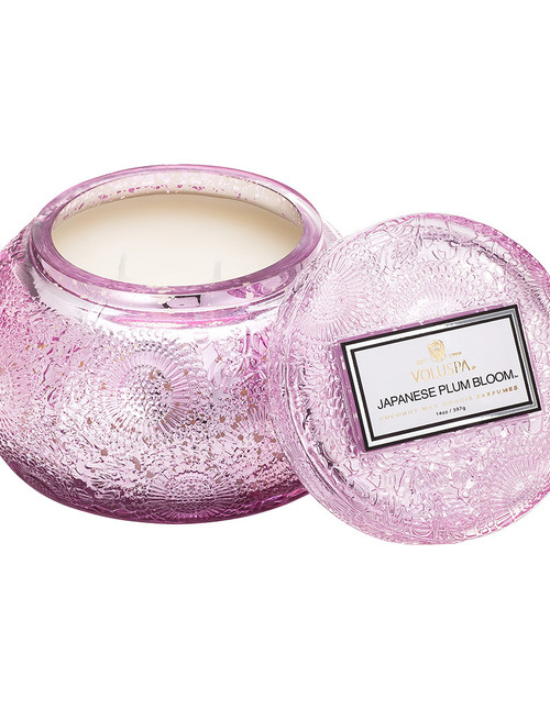 Japonica Limited Edition Metallic Candle - Japanese Plum Bloom