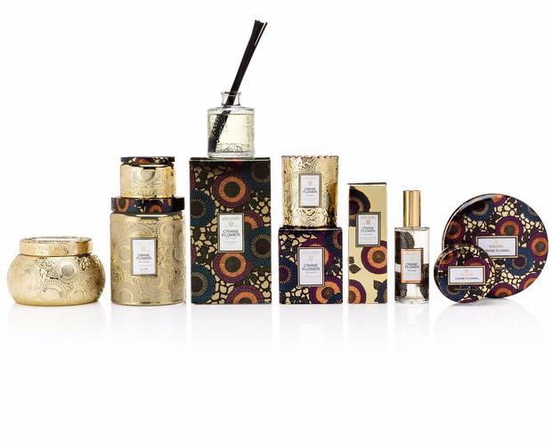 Voluspa Luxury Scented Candles -  CRANE FLOWER