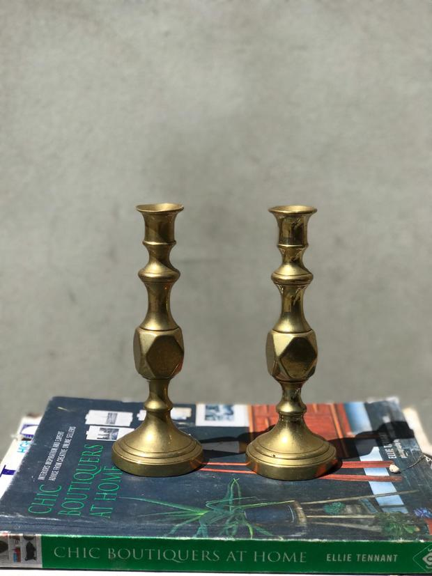 Antique candlesticks
