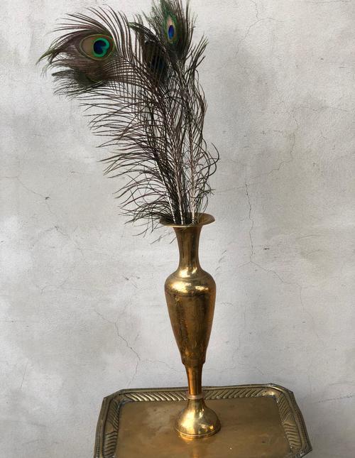 אגרטל זהב אלגנטי